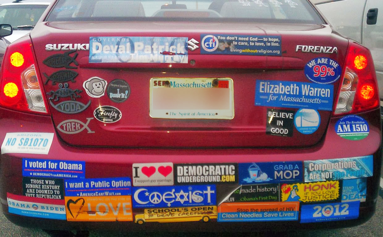A guest post bumper sticker slogans